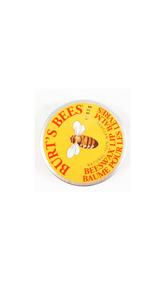 Burt's Bees Beeswax Lip Balm, Tin, 8.5g - Green Valley Pharmacy Ottawa Canada