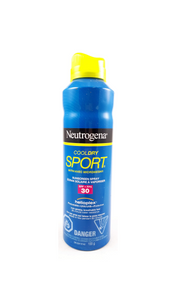 Neutrogena Cool Dry Sport Sunscreen Spray, SPF 30 155 g - Green Valley Pharmacy Ottawa Canada