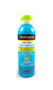 Neutrogena Wet Skin Spray For Kids, SPF 60, 141 g - Green Valley Pharmacy Ottawa Canada