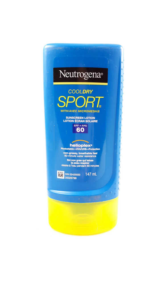 Neutrogena Cool Dry Sport, SPF 60, 147 mL - Mobile Pharmacy Ottawa Canada
