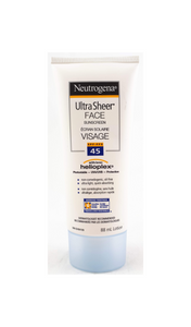 Neutrogena Ultra Sheer Face, 45 SPF, 88 mL - Mobile Pharmacy Ottawa Canada