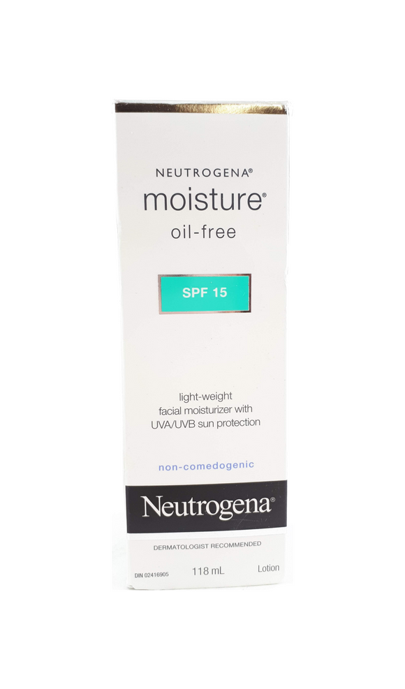 Neutrogena Light Weight Facial Moisturizer, SPF 15, 118 mL - Green Valley Pharmacy Ottawa Canada