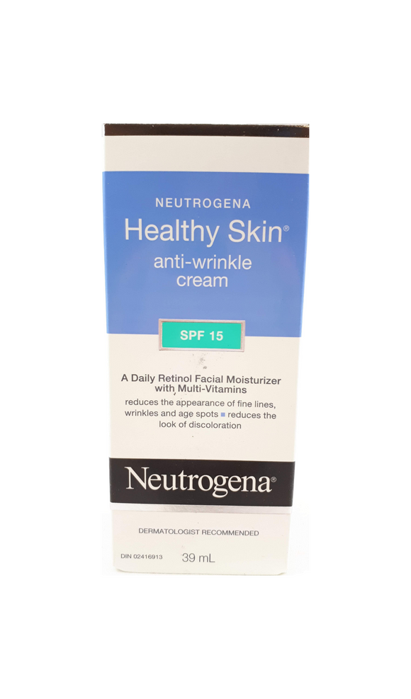Neutrogena Anti-Wrinkle SPF 15, 39 mL - Mobile Pharmacy Ottawa Canada