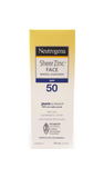 Neutrogena Sheer Zinc Face, SPF 50, 59 mL - Mobile Pharmacy Ottawa Canada