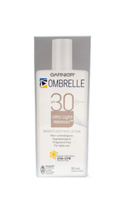 Ombrelle Face Lotion, SPF 30, 50 mL - Green Valley Pharmacy Ottawa Canada