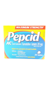 Pepcid AC Maximum Strength, 25 tablets - Green Valley Pharmacy Ottawa Canada