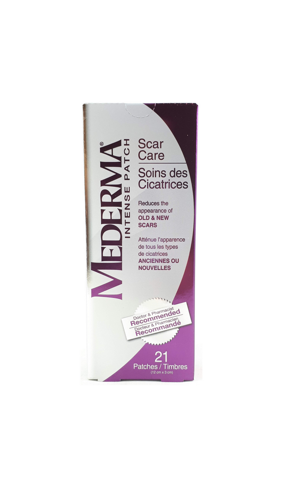 Mederma Intense Patch Scar Care, 21 Patches - Mobile Pharmacy Ottawa Canada