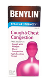 Benylin Regular, Cough & Chest Congestion, 250 mL - Green Valley Pharmacy Ottawa Canada