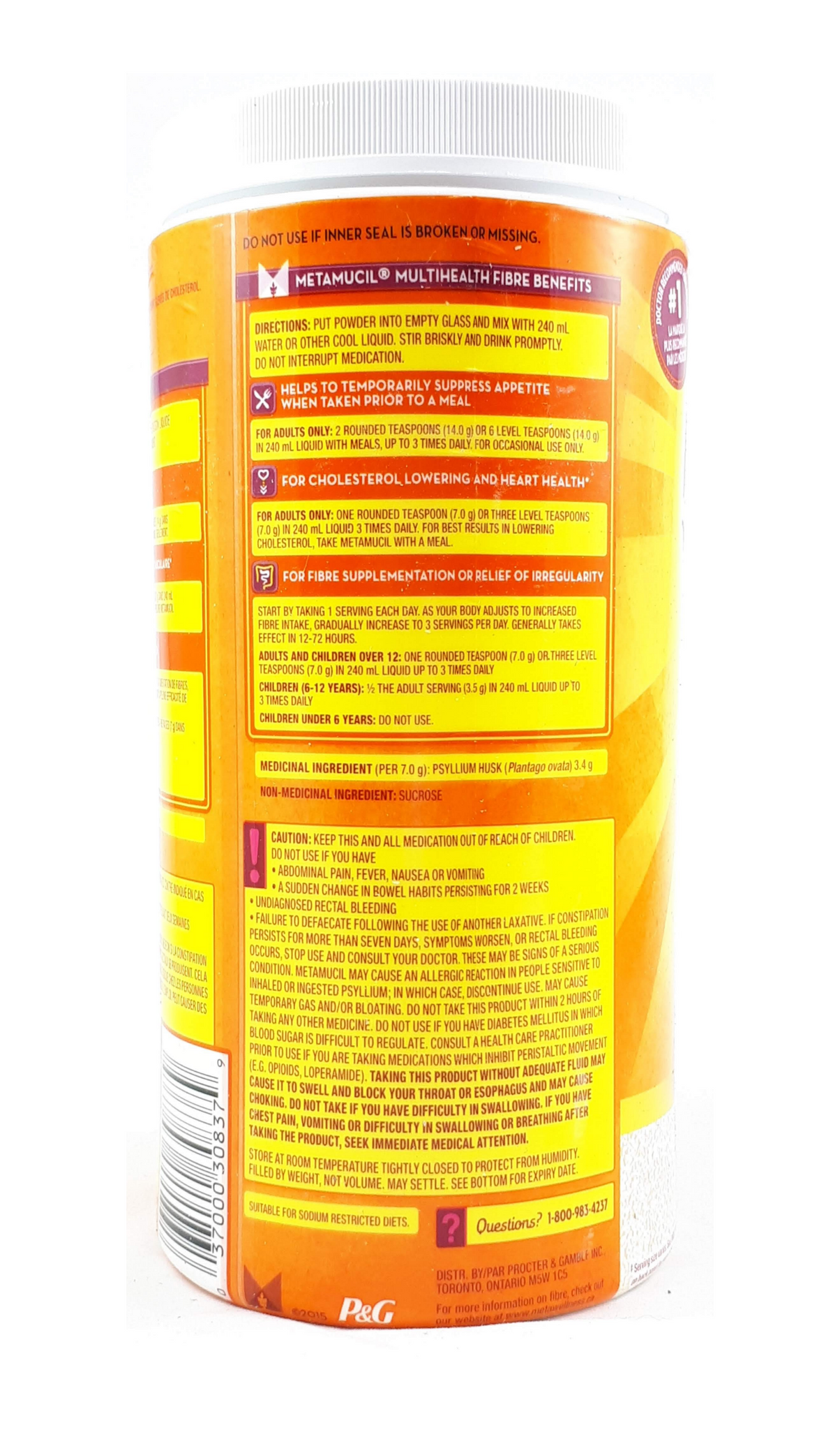 MetaMucil, Original, 798 g – Green Valley Pharmacy