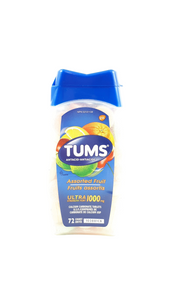 Tums, Assorted Fruit Flavor, 72 tablets - Green Valley Pharmacy Ottawa Canada