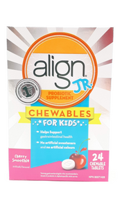 Align, Chewables for Kids, Cherry, 24 tablets - Green Valley Pharmacy Ottawa Canada
