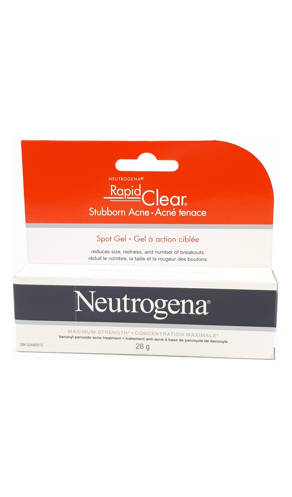 Neutrogena Spot Clear Gel, 28g - Green Valley Pharmacy Ottawa Canada