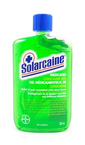 Solarcaine Gel, 220mL - Green Valley Pharmacy Ottawa Canada