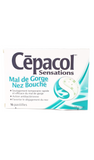 Cepacol, Sore Throat & Blocked Nose, 16 lozenges - Green Valley Pharmacy Ottawa Canada