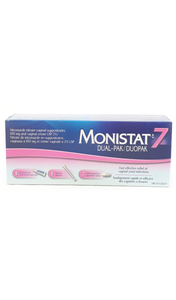 Monistat 7, Dual Pack - Green Valley Pharmacy Ottawa Canada