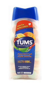 Tums, Assorted Fruit, 160 Tablets - Green Valley Pharmacy Ottawa Canada
