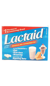 Lactaid, Regular Strength, 100 Tablets - Green Valley Pharmacy Ottawa Canada
