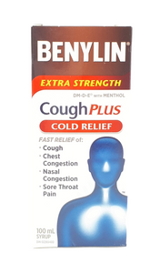 Benylin XS Cough Plus Cold Relief, 100 mL - Green Valley Pharmacy Ottawa Canada