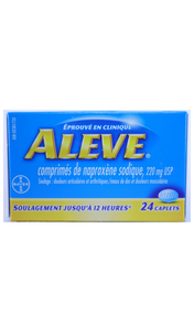 Aleve, 24 Tablets - Green Valley Pharmacy Ottawa Canada