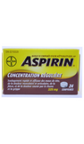 Aspirin, Regular Strength, 24 Tablets - Green Valley Pharmacy Ottawa Canada