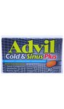 Advil Cold & Sinus Plus, 40 Caplets - Green Valley Pharmacy Ottawa Canada