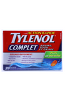 Tylenol Complete, 20 Capsules - Green Valley Pharmacy Ottawa Canada