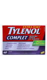 Tylenol Complete, 40 Caplets - Green Valley Pharmacy Ottawa Canada