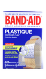 Band-Aid Plastic Comfort Flex, 40 Assorted Sizes - Green Valley Pharmacy Ottawa Canada