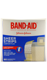 Band-Aid Sheer Strips, 80 Band-aids - Green Valley Pharmacy Ottawa Canada