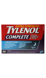 Tylenol Complete, Extra Strength, 24 Caplets - Green Valley Pharmacy Ottawa Canada
