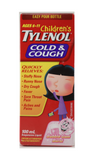 Tylenol Cough & Cold, Children, Age 6 to 11, Bubblegum 100 mL - Green Valley Pharmacy Ottawa Canada