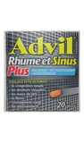 Advil Cold & Sinus Plus, 20 Caplets - Green Valley Pharmacy Ottawa Canada