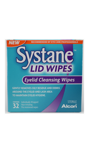 Systane, Lid Wipes, 32 Wipes - Green Valley Pharmacy Ottawa Canada