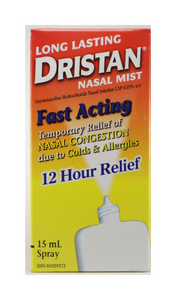 Dristan Long Lasting Mist, 15 mL - Green Valley Pharmacy Ottawa Canada