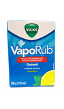 Vicks VapoRub, Lemon Scented, 115 mL - Green Valley Pharmacy Ottawa Canada