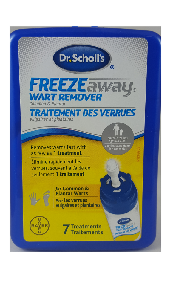 Dr. Scholl's Freeze Away Wart Remover - Green Valley Pharmacy Ottawa Canada