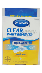 Clear Away Wart Remover, 9 strips - Green Valley Pharmacy Ottawa Canada