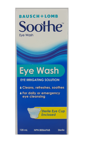 Bausch+Lomb Soothe Eye Wash, 120 mL - Green Valley Pharmacy Ottawa Canada