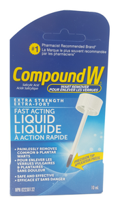 Compound W, Fast-Acting Liquid, 10 mL - Green Valley Pharmacy Ottawa Canada