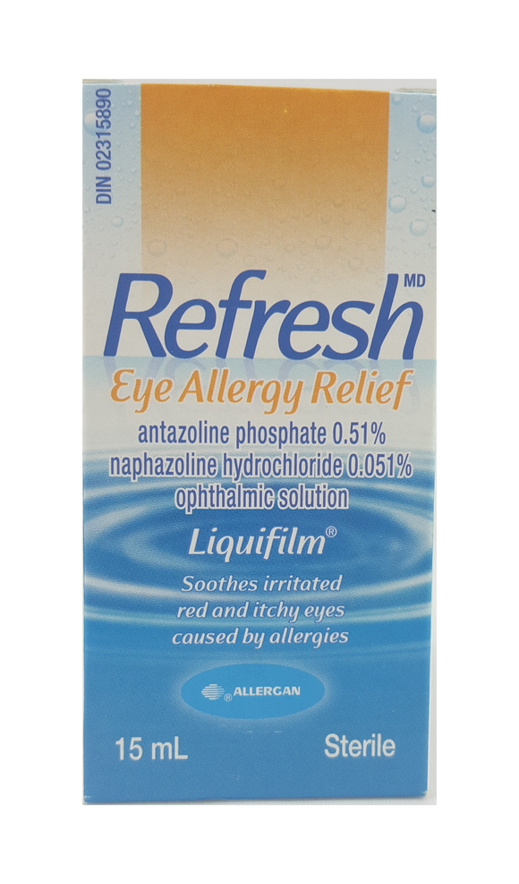 Refresh, Eye Allergy Relief, 15 mL