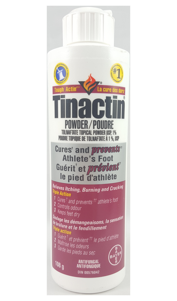 Tinactin Powder, 108 g - Green Valley Pharmacy Ottawa Canada