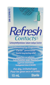 Refresh, Contacts Drops, 15 mL - Green Valley Pharmacy Ottawa Canada