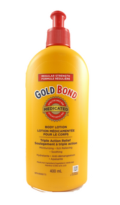 Gold Bond Regular Strength Medicated Body Lotion, 400 mL - Green Valley Pharmacy Ottawa Canada