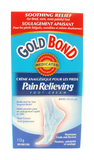 Gold Bond Pain Relieving Foot Cream, 113 g - Green Valley Pharmacy Ottawa Canada