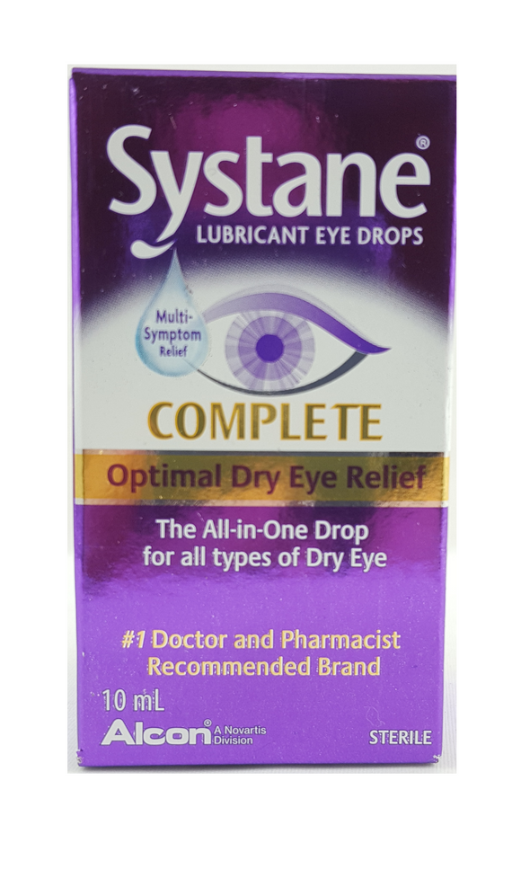 Systane Complete, Eye Drops, 10 mL - Green Valley Pharmacy Ottawa Canada