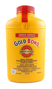 Gold Bond Powder, 113 g - Green Valley Pharmacy Ottawa Canada