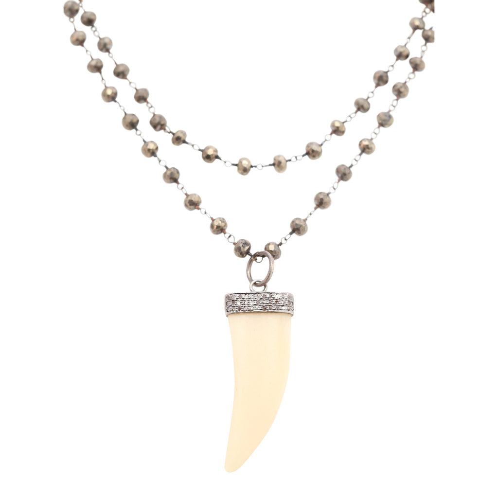 Necklace Diamond Tusk
