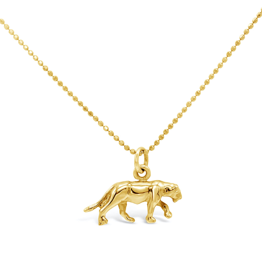 Panther 14k Charm Necklace