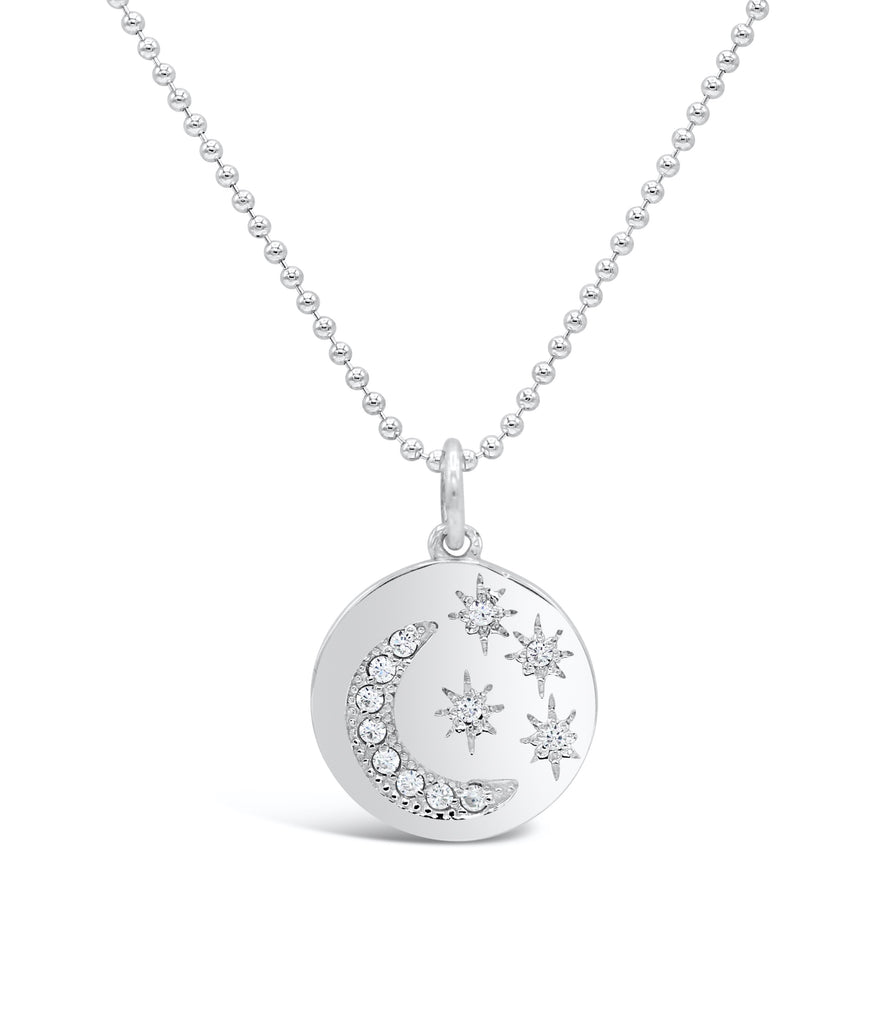 Starry Night Medallion Diamond Necklace