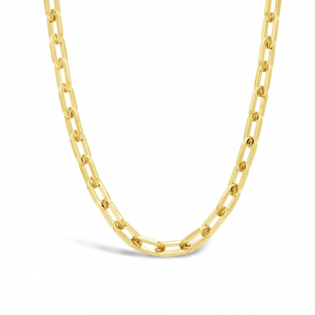 Paperclip Chain - Large 18kt Gold Plated Veremeil